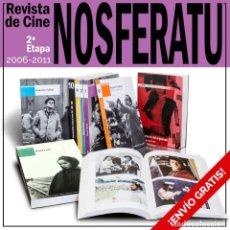 Libros: REVISTA DE CINE NOSFERATU. 2ª ETAPA. 9 NÚMEROS - VARIOS AUTORES DESCATALOGADO!!! OFERTA!!!. Lote 146099774