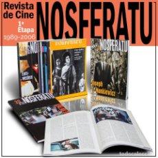 Libros: REVISTA DE CINE NOSFERATU. 1ª ETAPA. 10 LIBROS - VARIOS AUTORES DESCATALOGADO!!! OFERTAS!!!. Lote 146164442