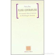 Libros: CINE. PLANO / CONTRAPLANO - NURIA BOU DESCATALOGADO!!! OFERTA!!!. Lote 155421913