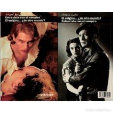 Libros: CINE. 48. ENTREVISTA CON EL VAMPIRO. EL ENIGMA...¿DE OTRO MUNDO? - SALA DESCATALOGADO!!! OFERTA!!! -. Lote 146804070