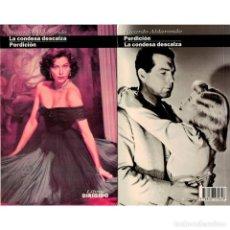 Libros: CINE. 46. LA CONDESA DESCALZA. PERDICIÓN - RICARDO ALDARONDO DESCATALOGADO!!! OFERTA!!! -. Lote 146804514