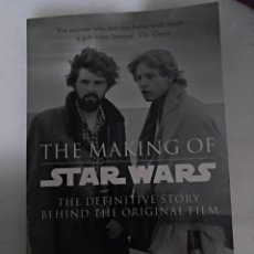 Libros: THE MAKING OF STAR WARS THE DEFINITIVE STORY BEHIND THE ORIGINAL FILM. Lote 155301514