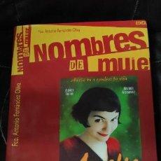 Libros: NOMBRES DE MUJER CARTELES DE CINE . Lote 160016734
