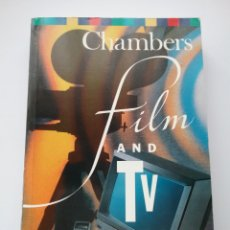 Libros: LIBRO CHAMBERS FILM AND TV. HANDBOOK. Lote 160559393