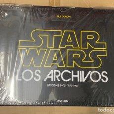 Libros: LIBRO STAR WARS LOS ARCHIVOS 1977-1983 TASCHEN. Lote 164483020