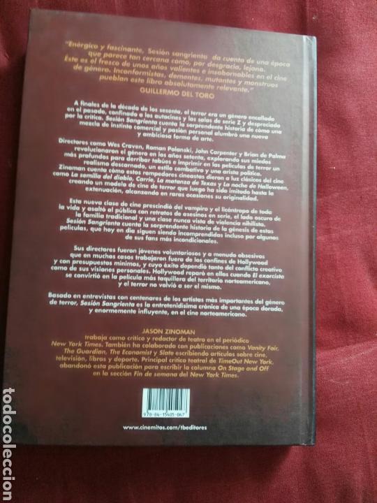 Libros: libro Sesion sangrienta viernes 13 cine gore terror jason zinoman - Foto 4 - 165451850