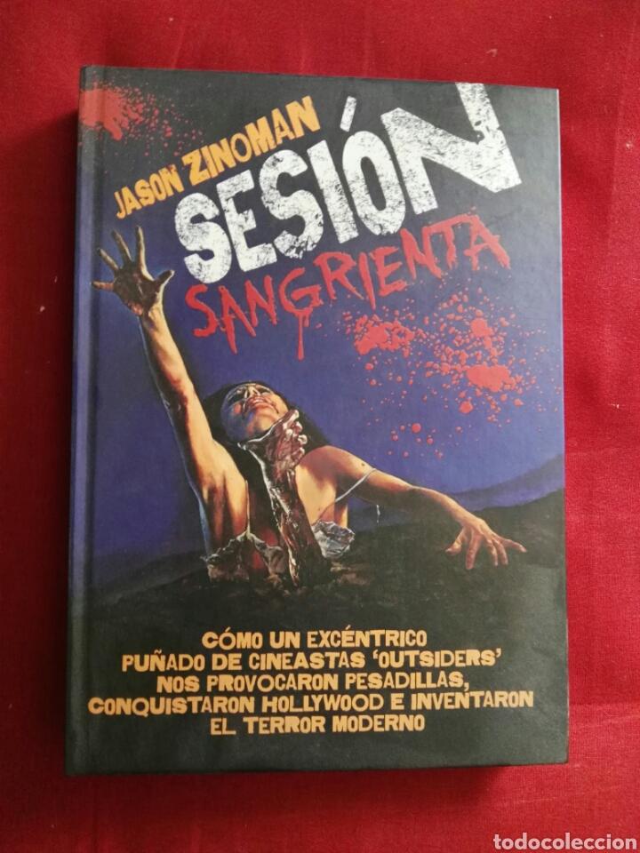 LIBRO SESION SANGRIENTA VIERNES 13 CINE GORE TERROR JASON ZINOMAN (Libros Nuevos - Bellas Artes, ocio y coleccionismo - Cine)