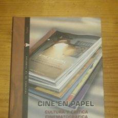 Libros: CINE EN PAPEL. CULTURA Y CRÍTICA CINEMATOGRÁFICA EN ESPAÑA (1962-1982). Lote 165881169