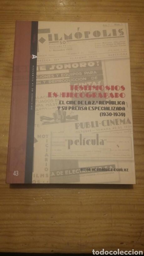 EL CINE DE LA SEGUNDA REPÚBLICA Y SU PRENSA ESPECIALIZADA (1930-1939) (Libros Nuevos - Bellas Artes, ocio y coleccionismo - Cine)