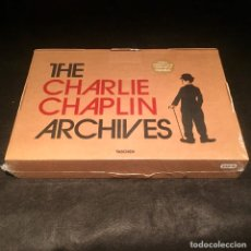 Libros: THE CHARLIE CHAPLIN ARCHIVES TASCHEN DE PAUL DUNCAN. Lote 176515858