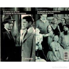 Libros: CINE. 38. EXTRAÑOS EN UN TREN. LA PARADA DE LOS MONSTRUOS - QUIM CASAS DESCATALOGADO!!! OFERTA!!!. Lote 176642660