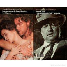 Libros: CINE. 32. FRANKESTEIN DE MARY SHELLEY. SED DE MAL - TOMAS FERNÁNDEZ VALEN DESCATALOGADO!!! OFERTA!!!. Lote 176644387