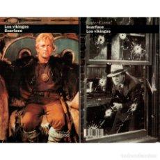 Libros: CINE. 22. LOS VIKINGOS. SCARFACE - JAVIER COMA DESCATALOGADO!!! OFERTA!!!. Lote 176644949