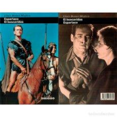 Libros: CINE. 28. ESPARTACO. EL BUSCAVIDAS - LLUÍS BONET DESCATALOGADO!!! OFERTA!!!. Lote 176645944
