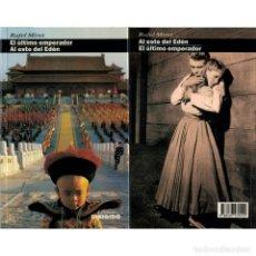 Libros: CINE. 16. EL ÚLTIMO EMPERADOR. AL ESTE DEL EDÉN - RAFEL MIRET DESCATALOGADO!!! OFERTA!!!. Lote 176647682