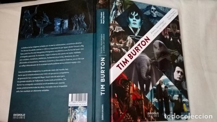 LIBRO DIABOLO: TIM BURTON - SIMIOS, MURCIELAGOS Y JINETES SIN CABEZA (Libros Nuevos - Bellas Artes, ocio y coleccionismo - Cine)