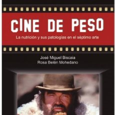 Libros: CINE DE PESO (J.M. BISCAIA / R.B. MOHEDANO) GLYPHOS 2018. Lote 178964941