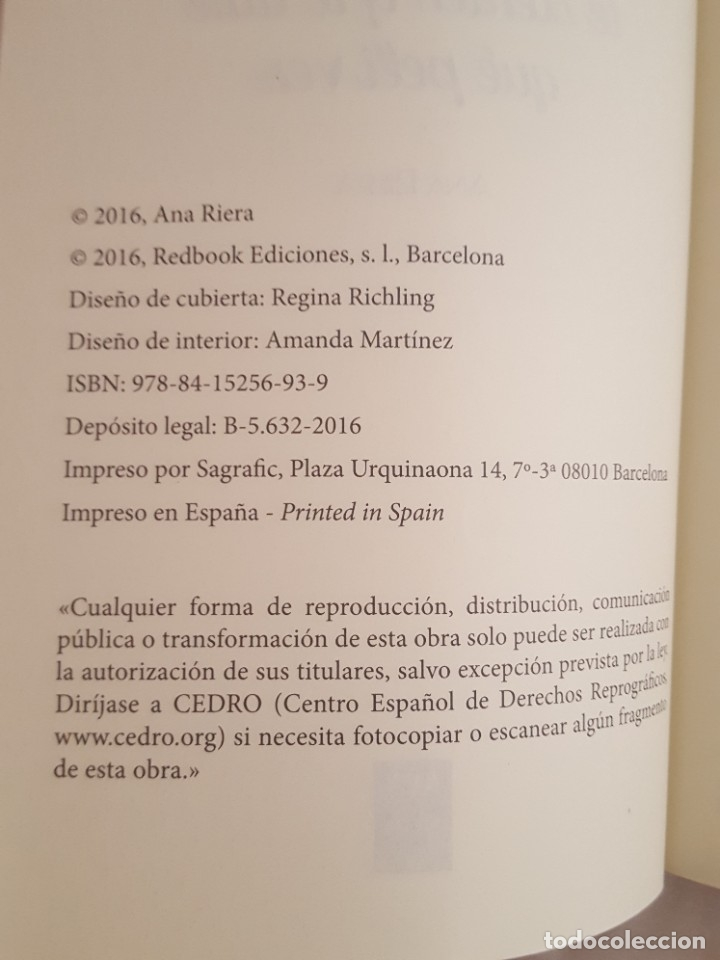 Libros: LIBRO / DIME COMO TE SIENTES Y TE DIRE QUE PELI VER / ANA RIERA 2016 - Foto 3 - 179207826