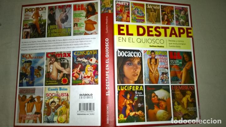 LIBROS: EL DESTAPE EN EL QUIOSCO - GUILLEM MEDINA - DIABOLO EDICIONES (Libros Nuevos - Bellas Artes, ocio y coleccionismo - Cine)