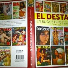 Libros: LIBROS: EL DESTAPE EN EL QUIOSCO - GUILLEM MEDINA - DIABOLO EDICIONES. Lote 182734886