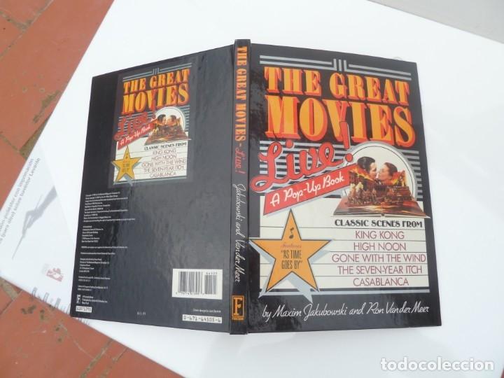 DESPLEGABLE THE GREAT MOVIES 1987 NEW YORK (Libros Nuevos - Bellas Artes, ocio y coleccionismo - Cine)