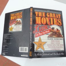 Libros: DESPLEGABLE THE GREAT MOVIES 1987 NEW YORK. Lote 182778470