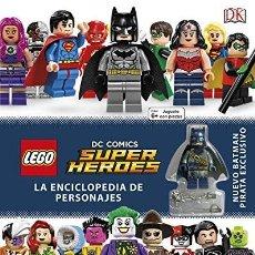 Libros: LEGO DC ENCICLOPEDIA DE PERSONAJES. Lote 189116150
