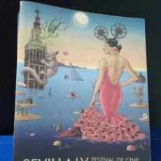 Libros: CATÁLOGO 2012 FESTIVAL EUROPEO IX SEVILLA. Lote 189448118