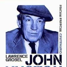 Libros: JOHN HUSTON. BIOGRAFÍA AUTOR: LAWRENCE GROBEL. Lote 191201575