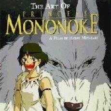Libros: THE ART OF PRINCESS MONONOKE. Lote 191206728