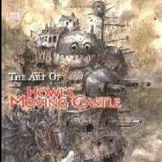 Libros: THE ART OF HOWL'S MOVING CASTLE. Lote 191207133