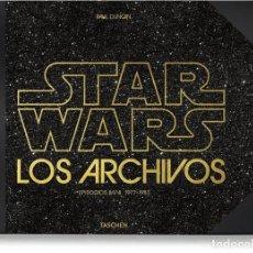 Libros: CINE. LOS ARCHIVOS DE STAR WARS 1977 1983 - PAUL DUNCAN (CARTONÉ). Lote 191586471