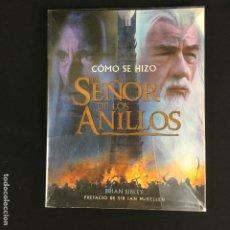 Libros: EL SEÑOR DE LOS ANILLOS-CÓMO SE HIZO-BRIAN SIBLEY-MINOTAURO-2002. Lote 191651845