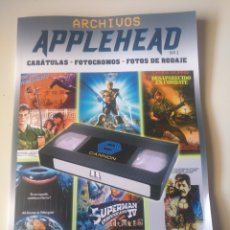 Libros: ARCHIVOS APPLEHEAD. CANNON FILMS. Lote 192140326