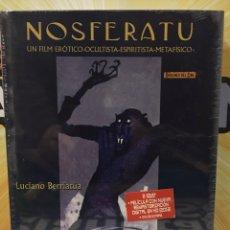 Libros: NOSFERATU, LIBRO + 2 DVD - DE LUCIANO BERRIATUA. Lote 192317045