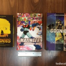 Libros: LOTE GOONIES Y MAZINGER Z. Lote 193435687