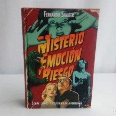 Libros: MISTERIO, EMOCION Y RIESGO. SAVATER, FERNANDO. ARIEL.. Lote 195261148