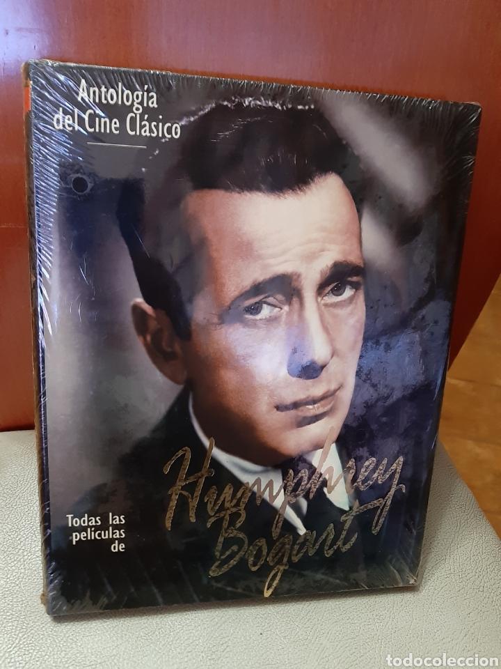 LIBRO ANTOLOGÍA DEL CINE CLÁSICO. HUMPHREY BOGART. (ART. NUEVO Y PRECINTADO) (Libros Nuevos - Bellas Artes, ocio y coleccionismo - Cine)