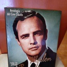 Libros: LIBRO ANTOLOGÍA DEL CINE CLÁSICO, MARLON BRANDO. (ART. NUEVO). Lote 196268043