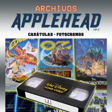 Libros: ARCHIVOS APPLEHEAD: WALT DISNEY HOME VIDEO. Lote 219051492