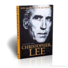 Libros: CHRISTOPER LEE. MÁS ALLÁ DEL CINE DE TERROR - JUAN MANUEL CORRAL DESCATALOGADO!!! OFERTA!!!. Lote 199074853