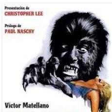 Livros: SPANISH HORROR AUTOR: VICTOR MATELLANO. Lote 201530202