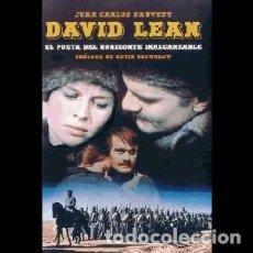Libros: DAVID LEAN. EL POETA DEL HORIZONTE INALCANZABLE AUTOR: JUAN CARLOS FAUVETY. Lote 206277391