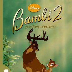 Libros: BAMBI 2. EL PRÍNCEP DEL BOSC (ELS CLÀSSICS DISNEY) (ED.CATALÁN) (TAPA DURA). Lote 210289508