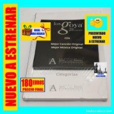 Libros: LOS PREMIOS GOYA 28 EDICIÓN - FICHAS DE PELÍCULAS + CDS MEJOR CANCIÓN / MEJOR MÚSICA ORIGINAL - 180€. Lote 210405555