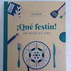 Libros: ¡QUÉ FESTÍN! UN MENÚ DE CINE - DOC PASTOR - HÉROES DE PAPEL CROSSOVER. Lote 210536918