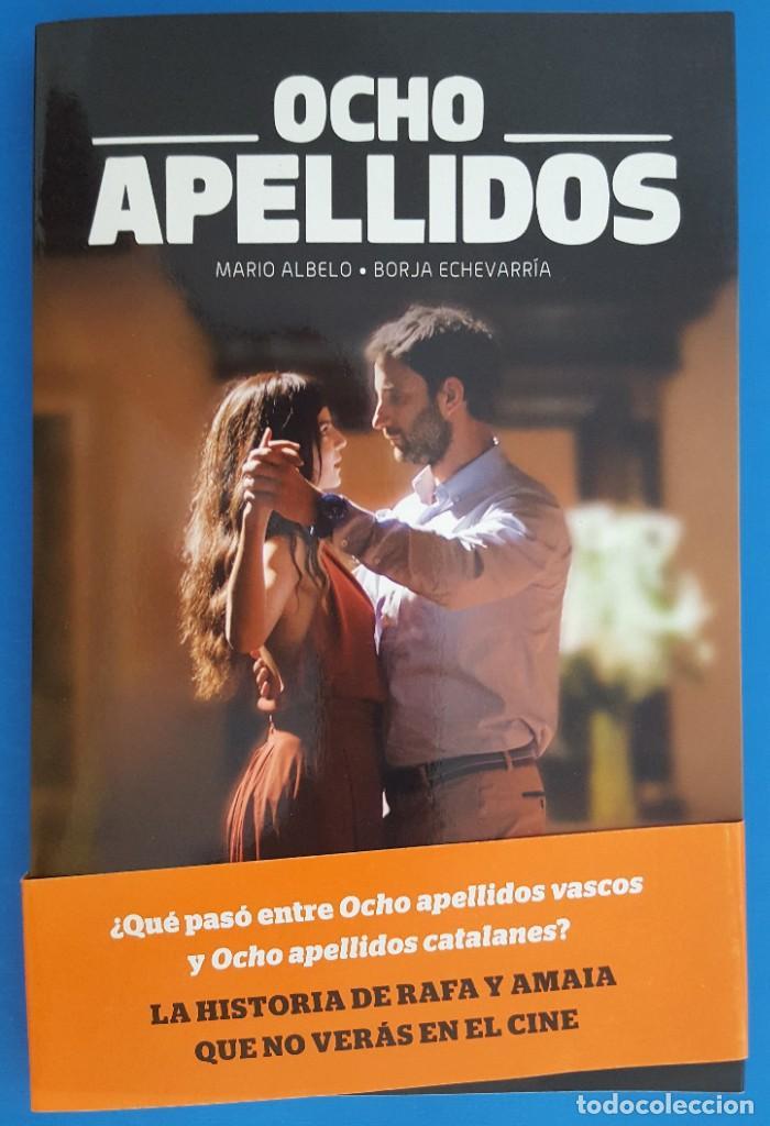 LIBRO / OCHO APELLIDOS VASCOS - MARIO ALBELO, BORJA ECHEVARRIA, ESPASA 2015 (Libros Nuevos - Bellas Artes, ocio y coleccionismo - Cine)