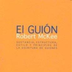 Libros: CINE. EL GUIÓN - ROBERT MCKEE. Lote 222716368