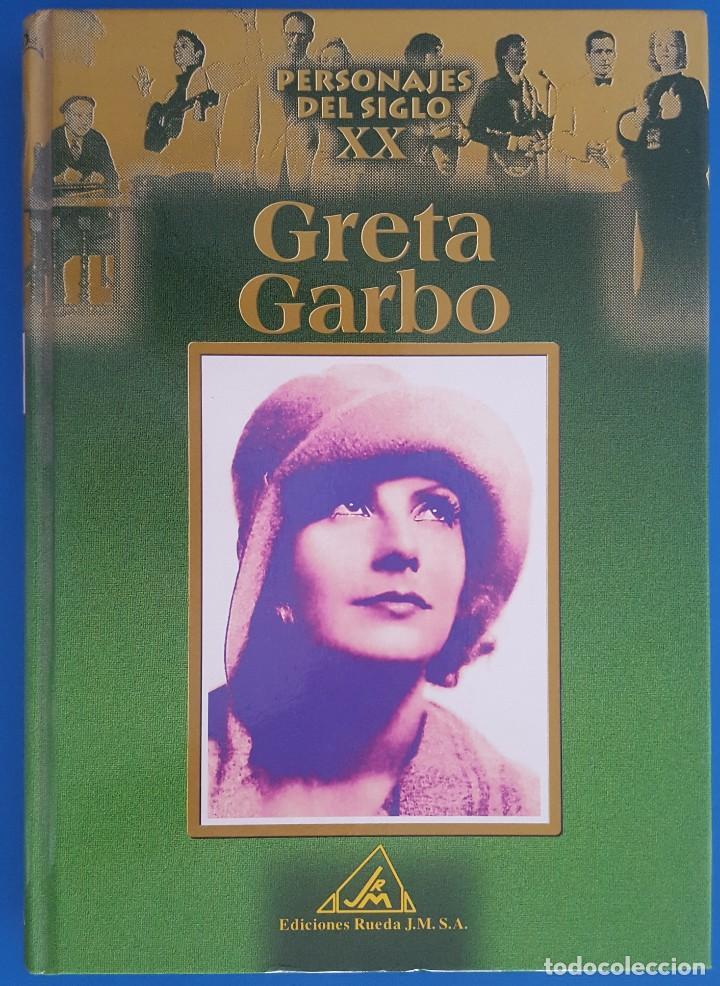 LIBRO / PERSONAJES DEL SIGLO XX, GRETA GARBO / EDICIONES RUEDA 1ª EDICIÓN 2002 (Libros Nuevos - Bellas Artes, ocio y coleccionismo - Cine)