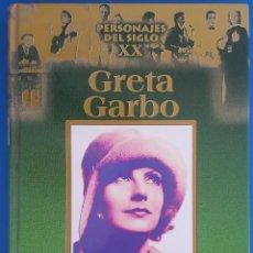 Libros: LIBRO / PERSONAJES DEL SIGLO XX, GRETA GARBO / EDICIONES RUEDA 1ª EDICIÓN 2002. Lote 212557107